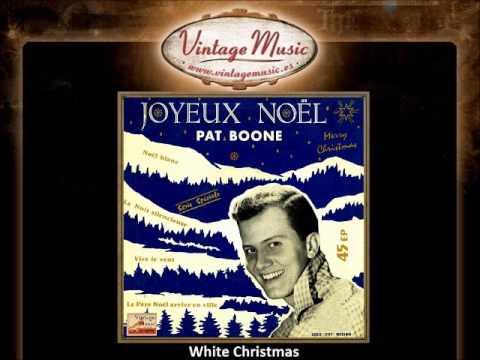 Pat Boone -- White Christmas (VintageMusic.es)