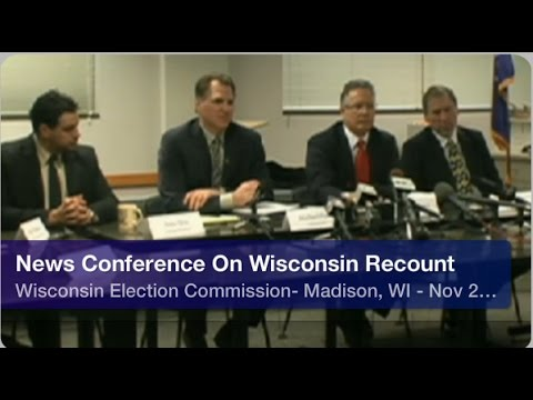 Presidential Recount In Wisconsin- Election Commission