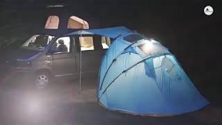 SheltaPod - Campervan & Vehicle Foldable Awning