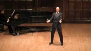 Der Song von Mandelay - Zach James - 2009 Lotte Lenya Competition