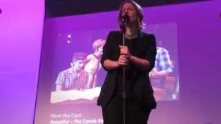 Jessie Mueller singing