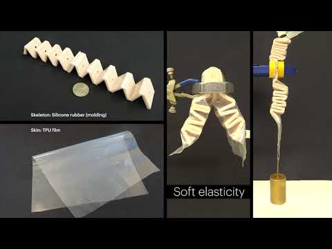 Origami-Inspired Artificial Muscles