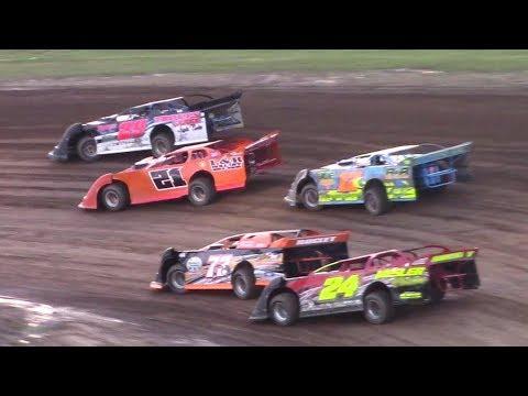 RUSH Crate Late Model Heat One | McKean County Raceway | 7-30-17