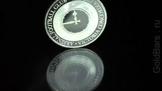 Производство монет из серебра. GoldBars.ru