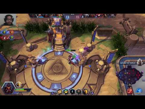 Heroes of the Storm Episode 40 Crimson Wrath Sonya Mercenary Lord Sky Temple Quickmatch Gameplay