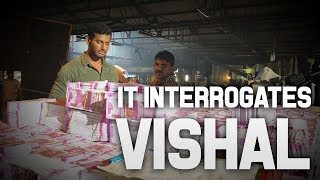 IT Interrogates Vishal | IrumbuThirai | IT