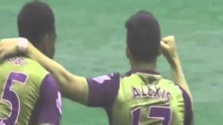 Alexis Sanchez Goal   West Ham United vs Arsenal 0-2 Premier League 9.04.2016