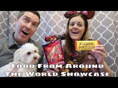 Epcot's Norway Pavilion - Trying Candy & Food From Norway -