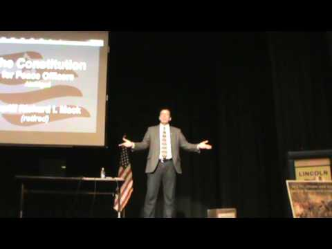 Sheriff Richard Mack Presentation in Thief River Falls, Minnesota, March 9, 2013, Part1