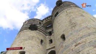Visite du Château d'Angers, Maine et loire