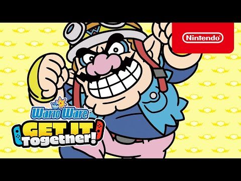 WarioWare: Get It Together! - Overview Trailer - Nintendo Switch