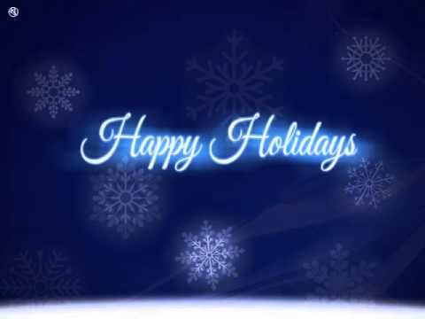 Business Holiday eCards - Shooting Star Blue by eCards2go - YouTube - free images happy holidays