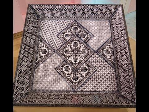 Como hacer contracolado art stico con l minas en blanco y for Laminas blanco y negro