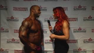 Toronto Pro Supershow 2017 - Nancy Di Nino interviews Jon Delarosa