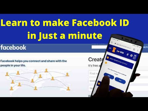 How To Create A New Facebook Account More Easy Steps