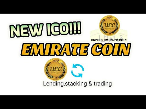 United Emirate Coin ICO review   - The First Arab Lending Platform UEC united emirate coin!!