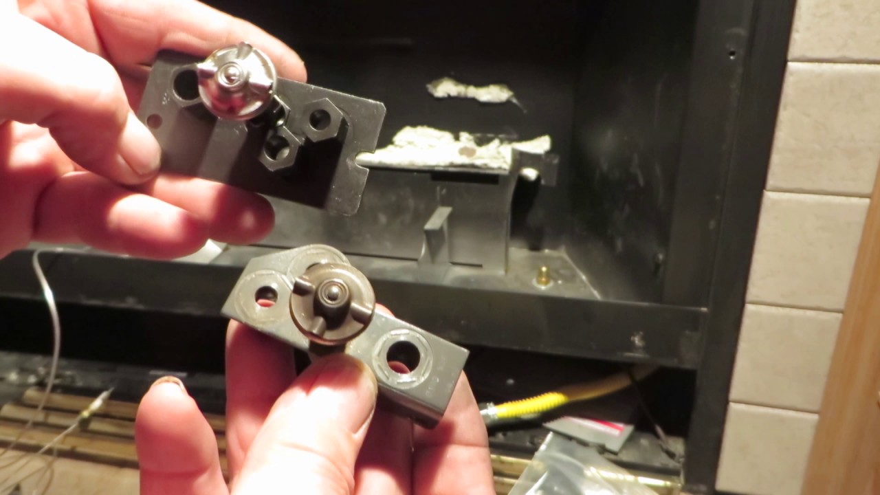 Obadiahs Gas Fireplace Troubleshooting  Replacing The Pilot Assembly  YouTube
