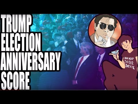 Trump Election Anniversary Scoring with Hard Bastard