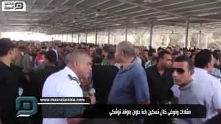 مصر العربية | مشادات وفوضىخلال تسكين باعة حلوان بموقف توشكى`_+