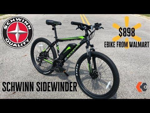 $898 Walmart EBike | Schwinn Sidewinder 250w EBike