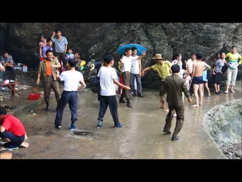 North Korea Nampo Beach video 04