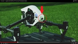 DJI Inspire 1 - Upgraded with DSLRPros FPV True Dual Pilot Operation System