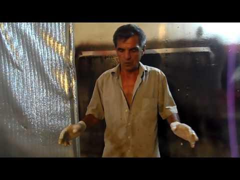 Вопрос: Как покрыть лодку стекловолокном?
