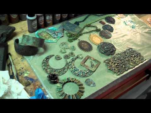 Patina On Metal: Swellegant Metal Coatings, Patinas, Dye Oxides