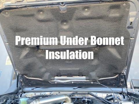 Under Bonnet Hood Insulation to Replicate a Factory Look
