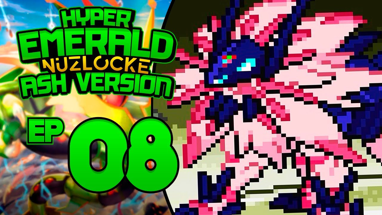 Assista se for capaz... - Pokémon Hyper Emerald NUZLOCKE #08 (GBA)