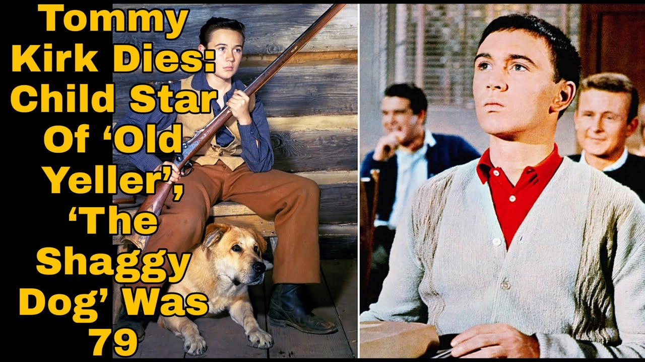 Tommy Kirk, Disney child star in 'Old Yeller' and 'The Shaggy Dog ...