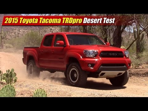 2015 Toyota Tacoma TRDpro Desert Test