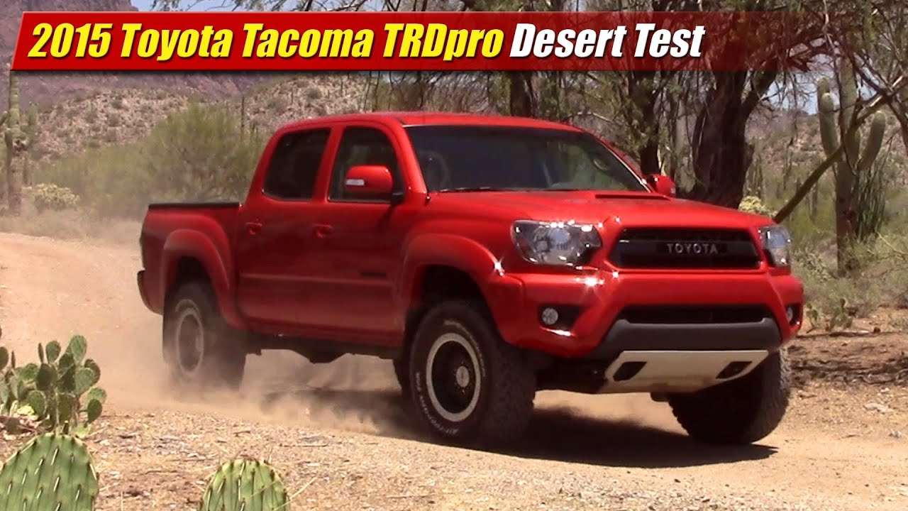 tacoma trd redesign pro toyota