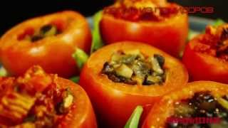 Долма из помидоров в мультиварке REDMOND M60. Рецепты для мультиварки
