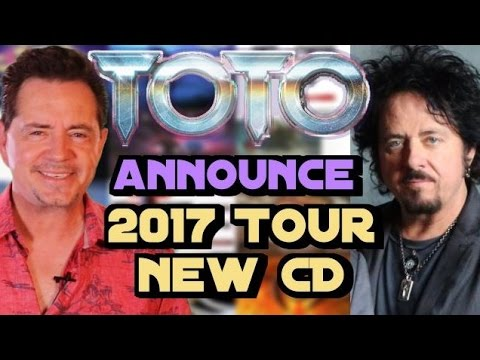 Steve Lukather Announces Toto's 2017 World Tour & New Sony CD