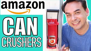 AMAZON Top Rated Can Crushers?   Can Crusher For Recycling   AMAZON Gadgets Part 5 screenshot 5