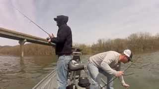 Early Spring Smallmouth Fishing