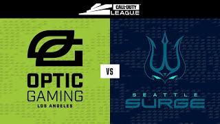 Knockout B | OpTic Gaming LA vs Seattle Surge | Toronto Ultra Home Series | Day 2