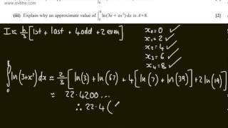 q6 core 3 c3 ocr june 2013 a2 past maths paper exam mathematics solutions