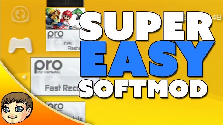 how to play downloaded games on psp  psp softmod jailbreak tutorial
