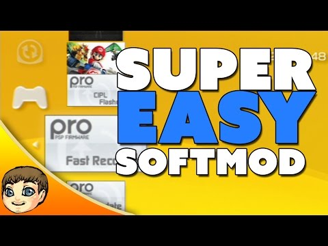 How to Play Downloaded Games on PSP // PSP Softmod Jailbreak Tutorial