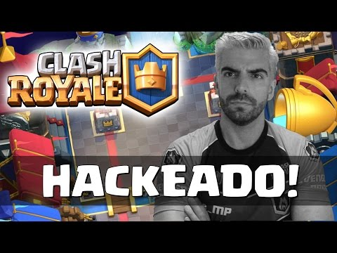 FUI HACKEADO NO CLASH ROYALE!