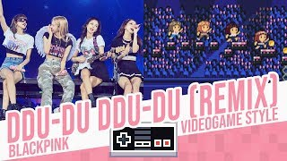 DDU-DU DDU-DU (Remix) (Barcelona 2019 Version), BLACKPINK - game Style