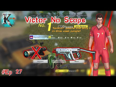 SMG Vector No Scope / Rules Of Survival - TenKay -