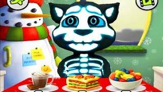МОЙ ГОВОРЯЩИЙ ТОМ #21 - Шерсть-скелет Мой виртуальный питомец - игровой мультик видео для детей