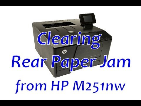 hp laserjet pro 200 color m251nw manual