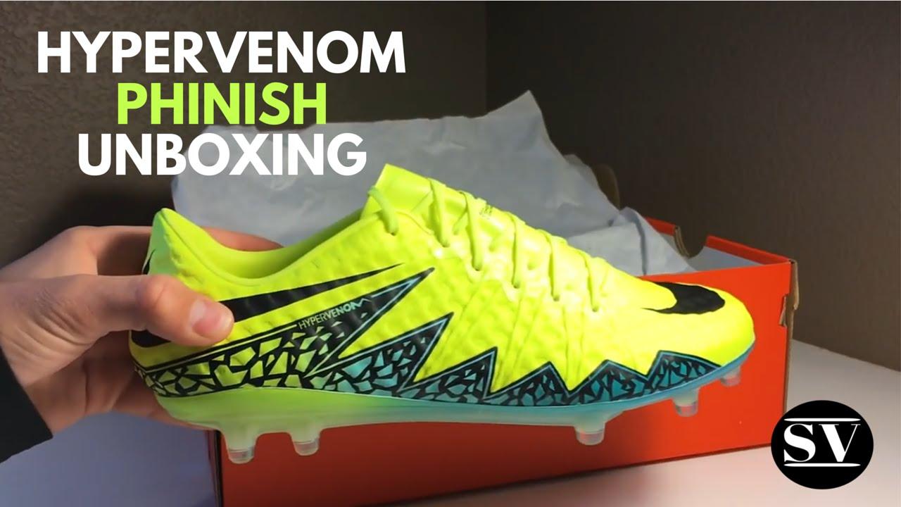 9f27e55fd Nike Hypervenom Phinish 2 Unboxing (first gen upper) - YouTube