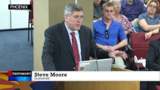 Steve Moore Addresses the Joint Prosperity District Committee of the AZ Legislature