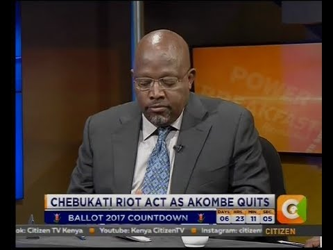 Power Breakfast: Chebukati Riot Act As Akombe Quits[part 2]