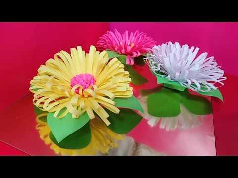 ЯРКИЙ БУКЕТ Сувенир на День Матери Своими Руками/ Поделки цветы из бумаги 8 Марта